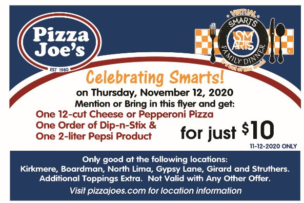 SFD Pizza Joes coupon for families 11042020